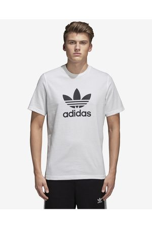 adidas Homem T-shirts & Manga Curta - Trefoil T-shirt White