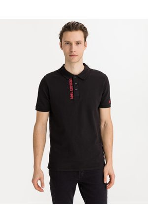 Guess Lyle Polo T-shirt Black