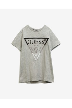 Guess Kids T-shirt Black White Grey
