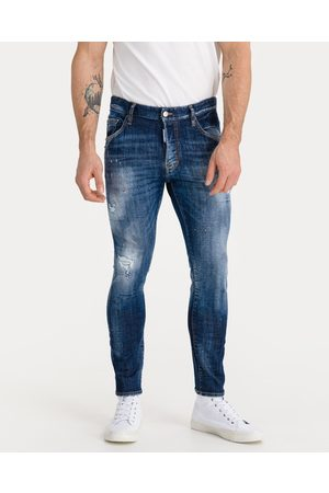 Dsquared2 Homem Jeans - Skater Jeans Blue