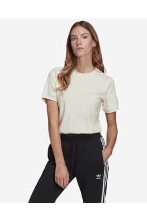 adidas Adicolor Classics 3-Stripes T-shirt Beige