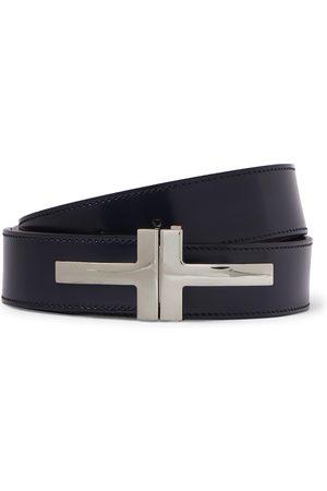 Tom Ford Homem Cintos - 3cm Polished-Leather Belt
