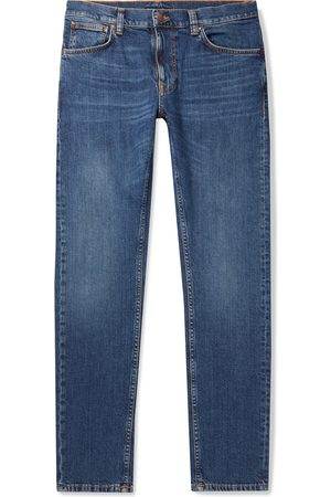 Nudie Jeans Homem Slim - Lean Dean Slim-Fit Tapered Stretch-Denim Jeans