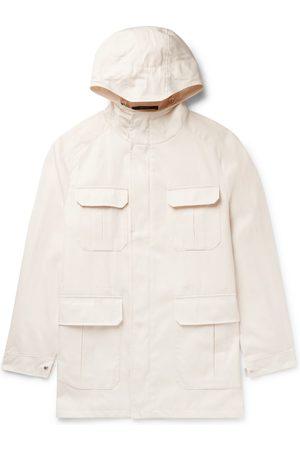 Saman Amel Homem Casacos - Tech-Twill Field Jacket