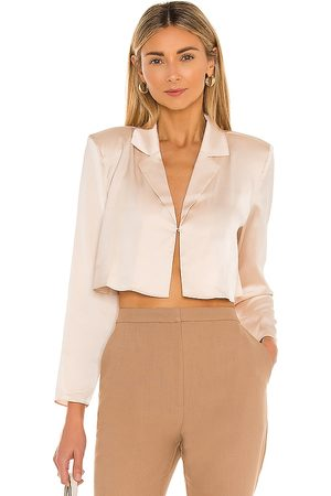 L'Academie The Leona Crop Blouse in - . Size L (also in XS, S, M, XL).