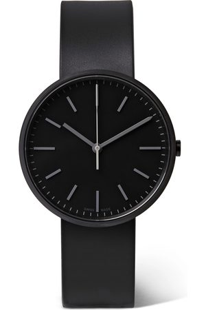 Uniform Wares Homem Relógios - M37 PreciDrive Stainless Steel and Leather Watch