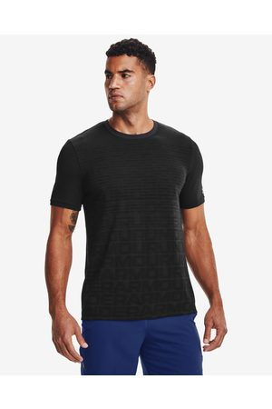 Under Armour Seamless Wordmark T-shirt Black
