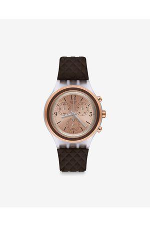 Swatch Elebrown Watches Brown