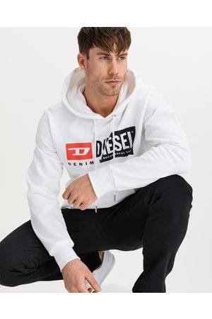 Diesel S-Girk-Hood-Cuty Sweatshirt White