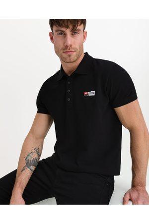 Diesel T-Weet-Split Polo Shirt Black