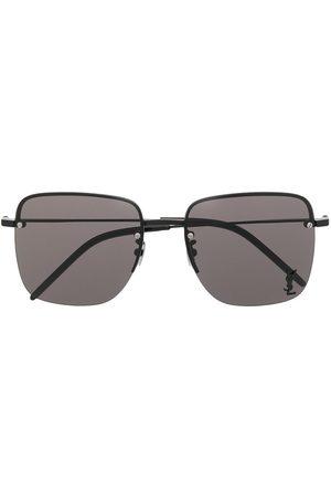 Saint Laurent Eyewear Óculos de Sol - Monogram SL312M square-frame sunglasses