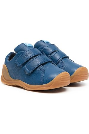 Camper Kids Touch-strap leather sneakers