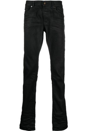 Saint Laurent High-waist straight-leg jeans