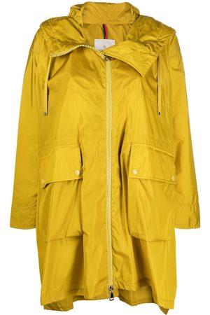 Moncler High-low rain coat