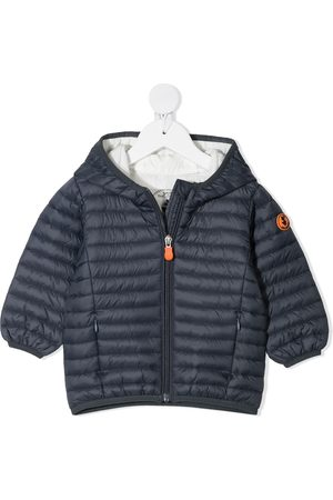 Save The Duck Kids Zip-up hooded padded jacket