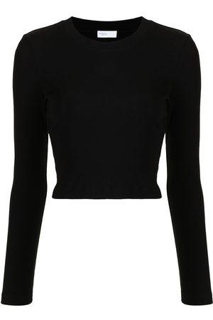 Rosetta Getty Long-sleeved cotton T-shirt