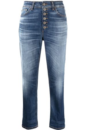 Dondup Koons loose-fit cropped jeans