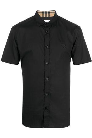 Burberry Check-trim shirt