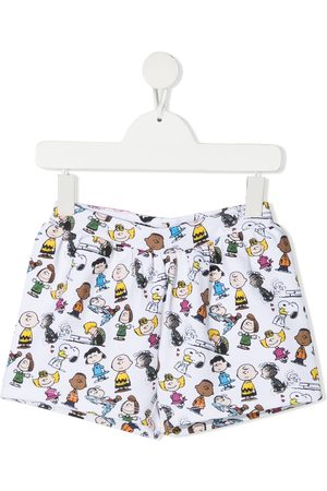 The Marc Jacobs Kids X Peanuts motif-print shorts
