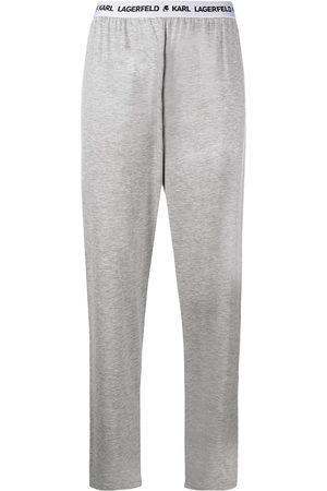 Karl Lagerfeld Logo waistband pyjama pants