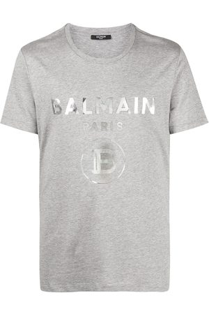 Balmain Homem T-shirts & Manga Curta - Logo-print T-shirt