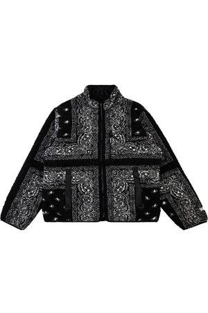 Supreme Homem Polares - Reversible bandana fleece jacket