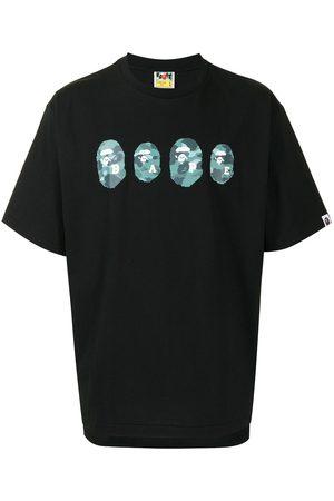 A BATHING APE® Homem T-shirts & Manga Curta - Graphic-print short-sleeve T-shirt