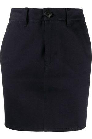 AMI Paris Fitted mini skirt