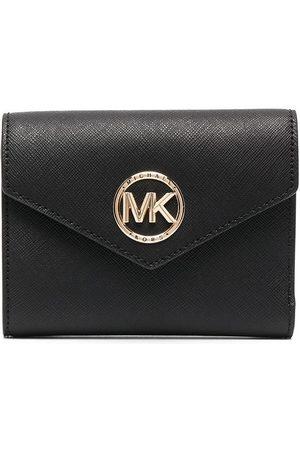 Michael Michael Kors Carmen logo-plaque wallet