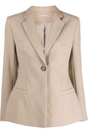 12 STOREEZ Dart-detail buttoned blazer