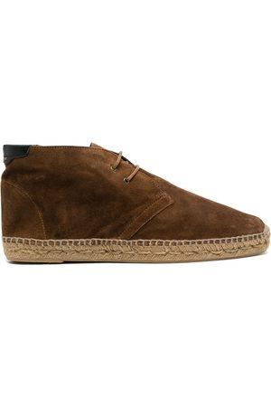 Saint Laurent Homem Alpercatas - Espadrille suede desert boots