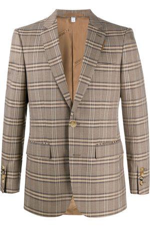 Burberry Homem Blazers - Prince of Wales check blazer