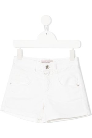 Alberta Ferretti Kids Denim mini shorts