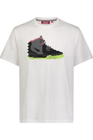 MOSTLY HEARD RARELY SEEN Homem T-shirts & Manga Curta - Sneaker print T-shirt