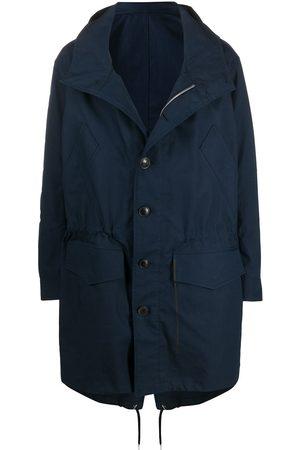 Ami Hooded parka coat
