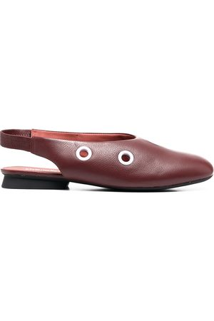 Camper Senhora Sabrinas - Eyelet detail slingback ballerina shoes