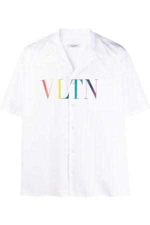 VALENTINO VLTN Multicolor bowling shirt
