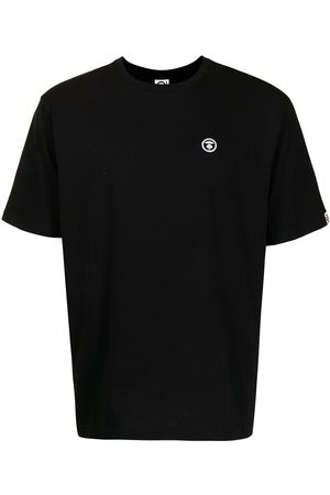 AAPE BY A BATHING APE Embroidered logo cotton T-shirt