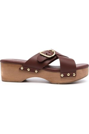 Ancient Greek Sandals Marilisa stud-detail clogs