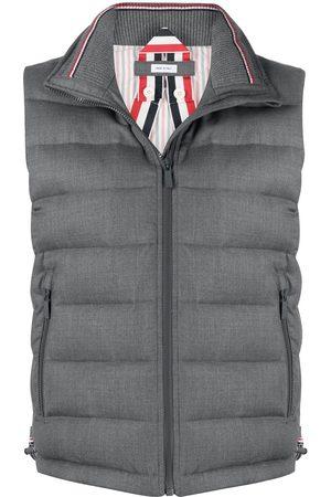 Thom Browne Padded funnel neck vest