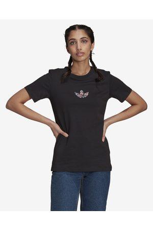 adidas Senhora T-shirts & Manga Curta - Allover T-shirt Black