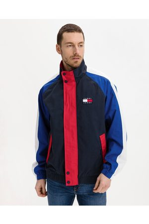 Tommy Jeans Badge Colorblock Jacket Blue Red