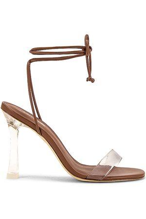 Larroude The Gloria Heel in - Brown. Size 6 (also in 5.5, 6.5, 7, 7.5, 8, 8.5, 9, 9.5).