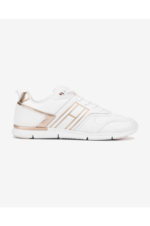 Tommy Hilfiger Metallic Lightweight Sneakers White