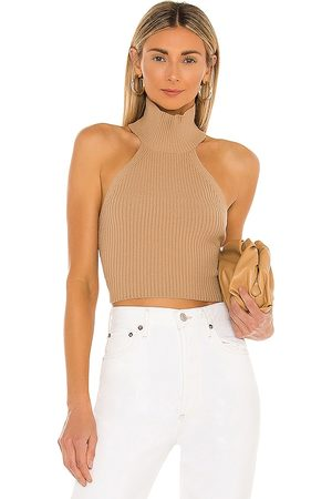House of Harlow X REVOLVE Heather Halter Top in - Nude. Size L (also in XL).
