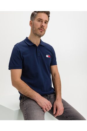 Tommy Jeans Badge Polo shirt Blue