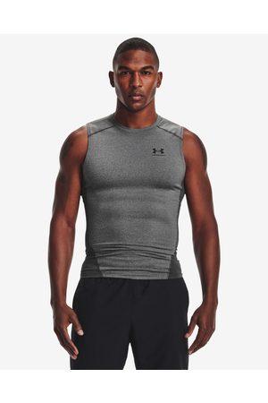 Under Armour Homem T-shirts & Manga Curta - HeatGear® Armour Comp Top Grey