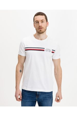 Tommy Hilfiger Corp Split T-shirt White