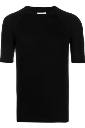 Burberry Logo trim fitted T-shirt