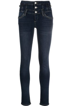 LIU JO Skinny jeans with triple button front